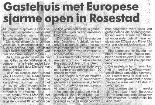 Volksblad 24 June 2009